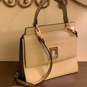 Luana Italy Pebbled Leather Rita Mini Satchel